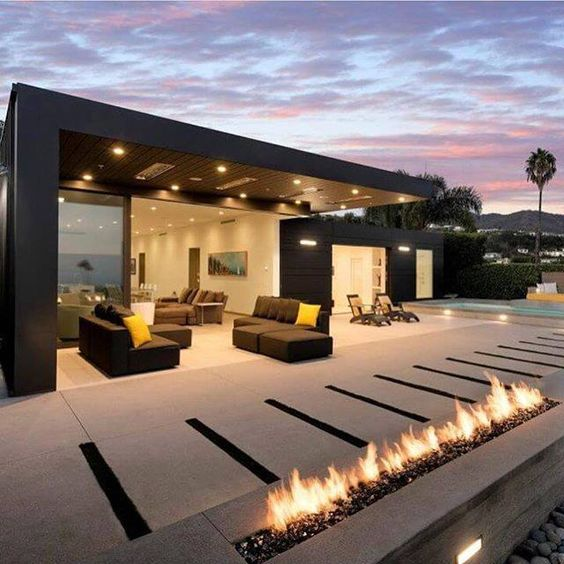 Terrasse grand luxe
