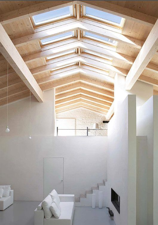 Terrasse avec sa pergolas en bois